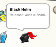 Black Helm in Pin Book