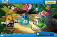 Prehistoric Party Homepage