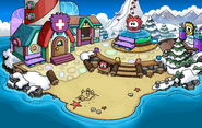 Puffle Party 2016 Beach