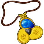 Amulet Water Gem