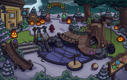 Halloween Party 2018 Puffle Park