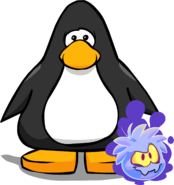 Ghost Puffle Player Card