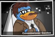 Commissioner Gordon Polaroid