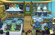 Halloween Party 2014 Puffle Hotel Spa