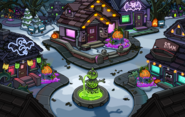 Halloween Party 2019 Snow Forts