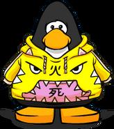 Yellow Neko Hoodie PC