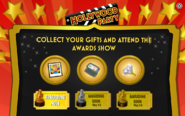 Hollywood Party Awards Show Interface