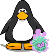 Green Ghost Puffle PC
