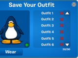Outfit Saver