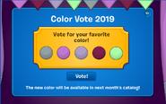 Colour vote