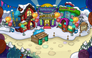 Puffle Party 2016 Town