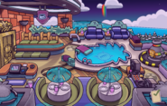 Summer Formal Puffle Hotel Roof
