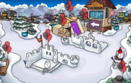 2nd Anniversary Party Snow Forts 2