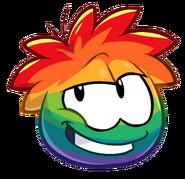 Puffle arcoiris