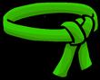 Green Ninja Belt icon-0
