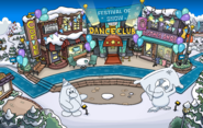 Festival Of Snow Town