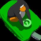 GreenSledSledRacingIn-game
