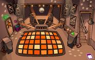 Night Club rave Orange