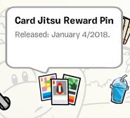 Card Jitsu Reward Pin SB