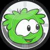 Pufflescape Green Puffle