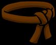 Brown Ninja Belt icon-0