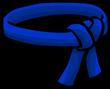Blue Ninja Belt icon-0