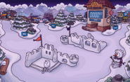 Summer Formal Snow Forts