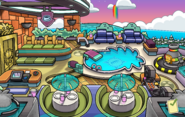 Puffle Party 2020 Puffle Hotel Roof