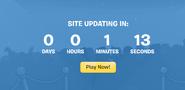 Countdown website