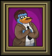 Commissioner Gordon Portrait
