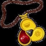 Fire Gem Amulet