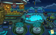 Batman Party Puffle Hotel Roof
