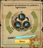 Lightsaber Duel Instructions