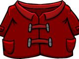 Dark Red Duffle Coat