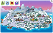 Puffle Party 2020 Map