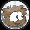 Pufflescape Brown Puffle