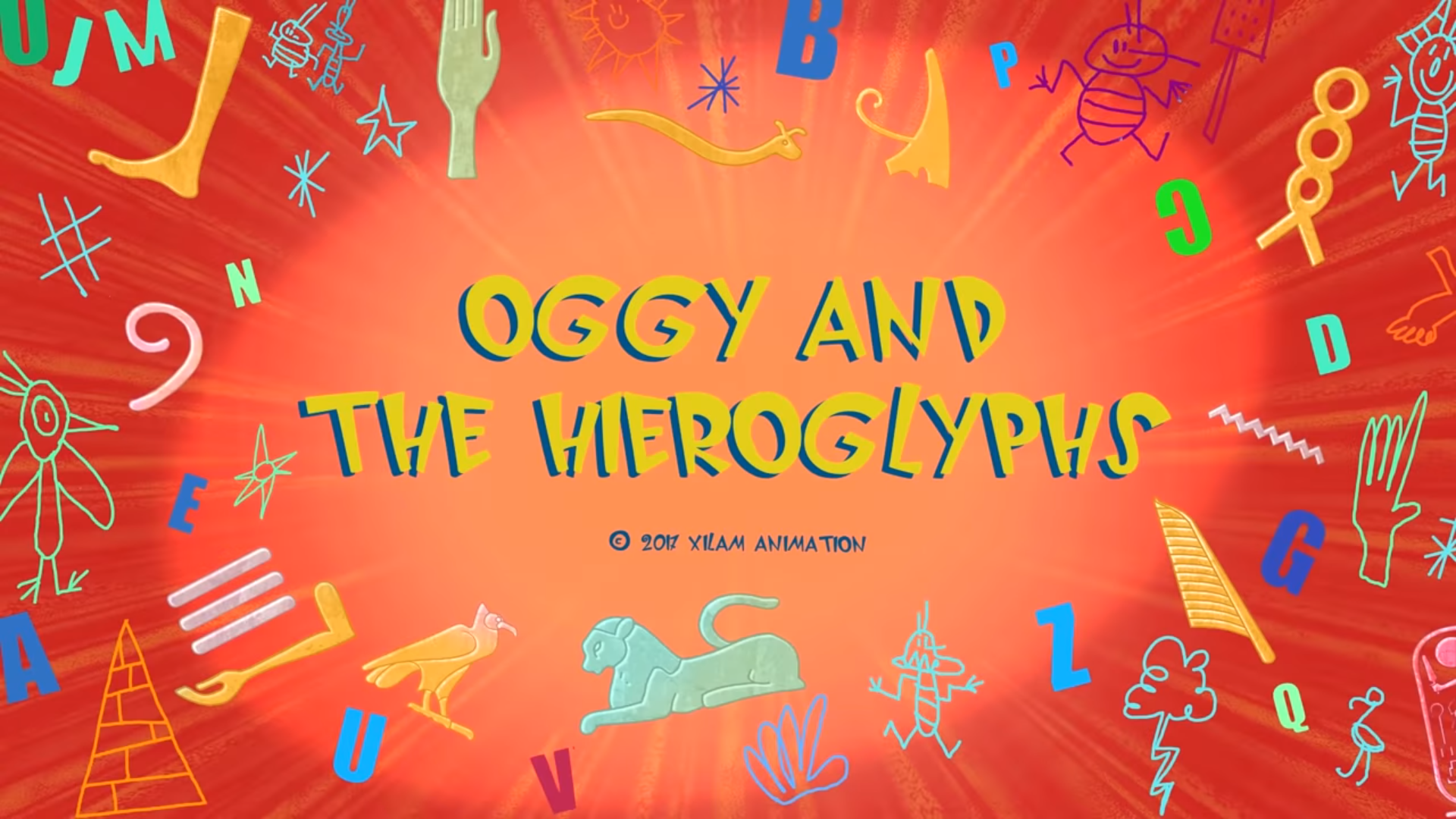 Oggy and the Hieroglyphs