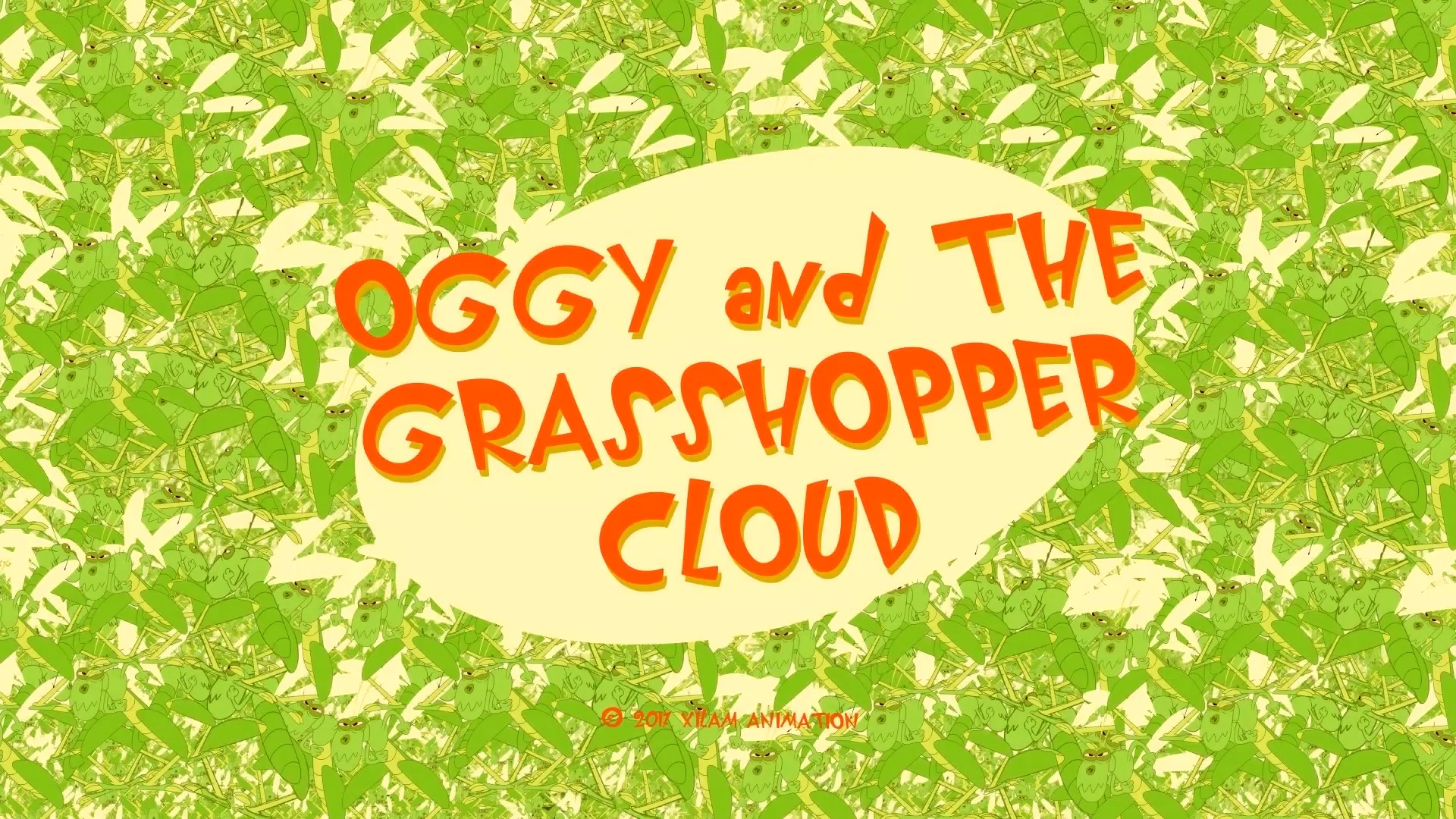 Oggy and the Grasshopper Cloud