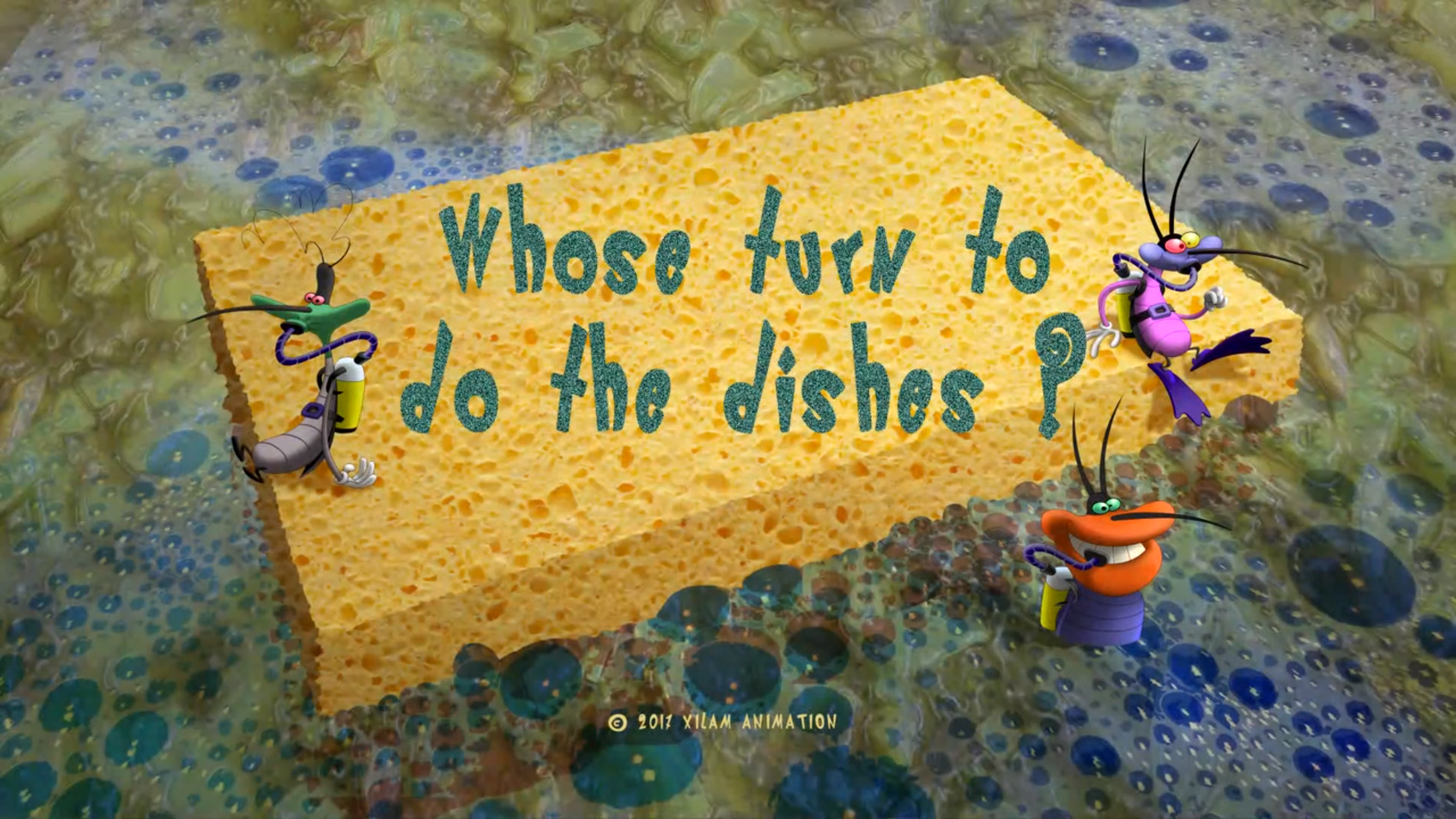 Whose Turn To Do The Dishes?