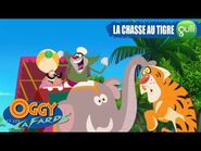 La chasse au tigre ! - Oggy et les Cafards Saison 5 c'est sur Gulli ! -24