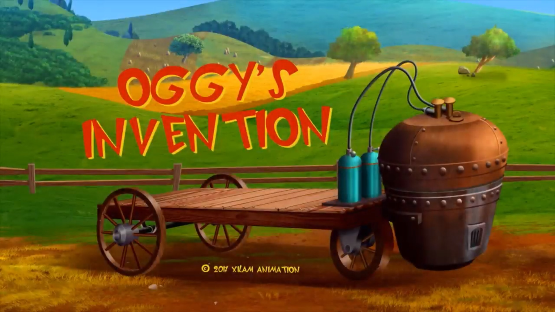 Oggy's Invention