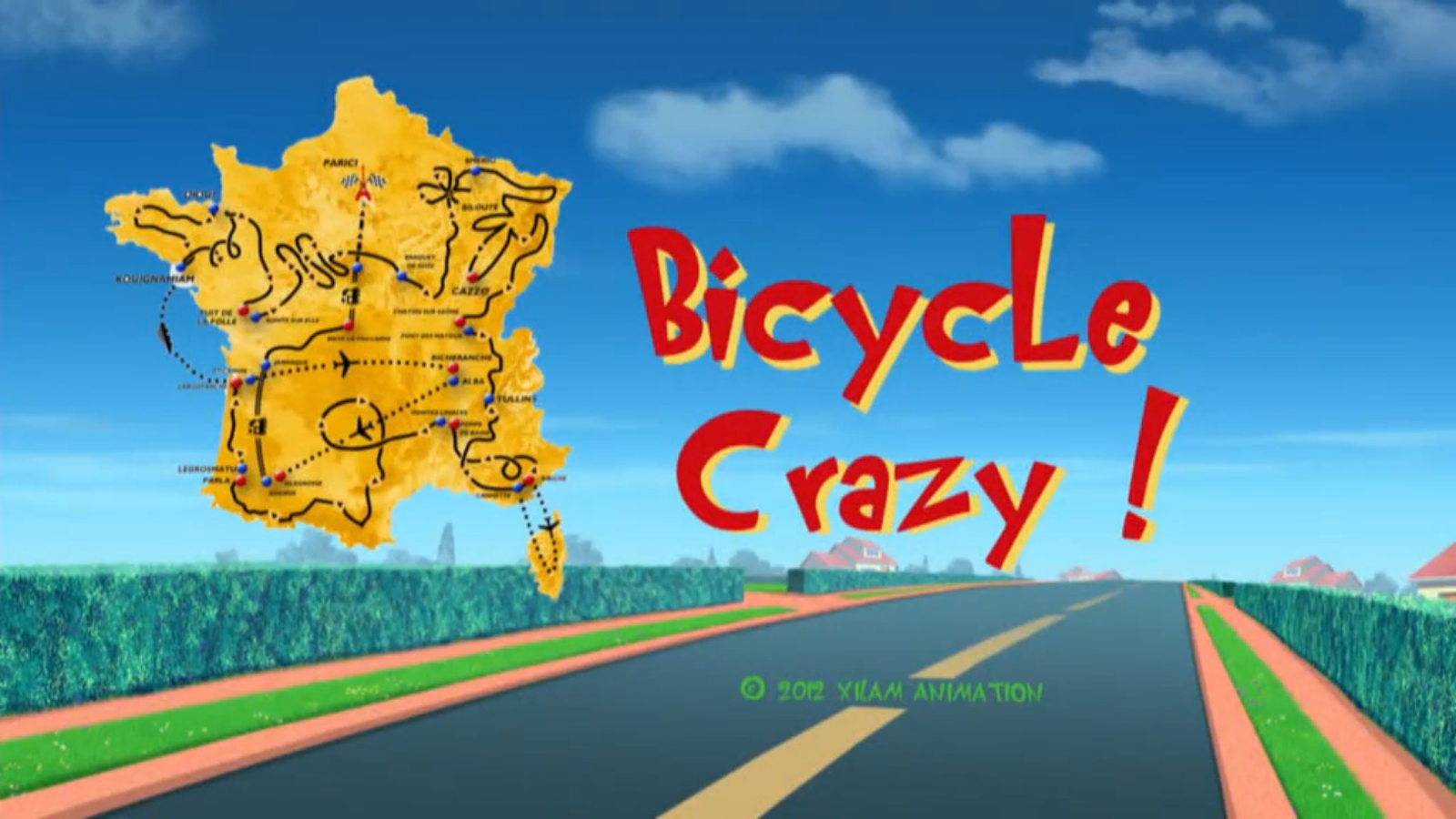 Bicycle Crazy!