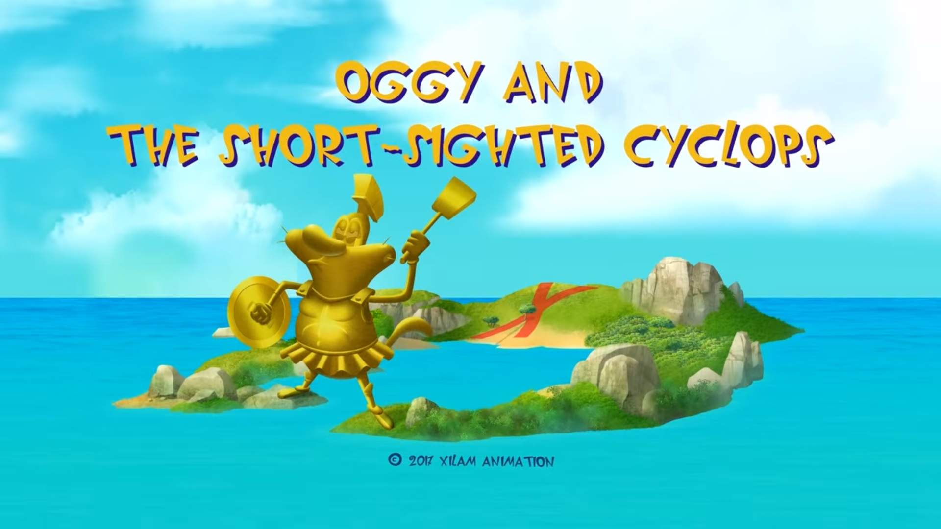 Oggy and the Short-Sighted Cyclops