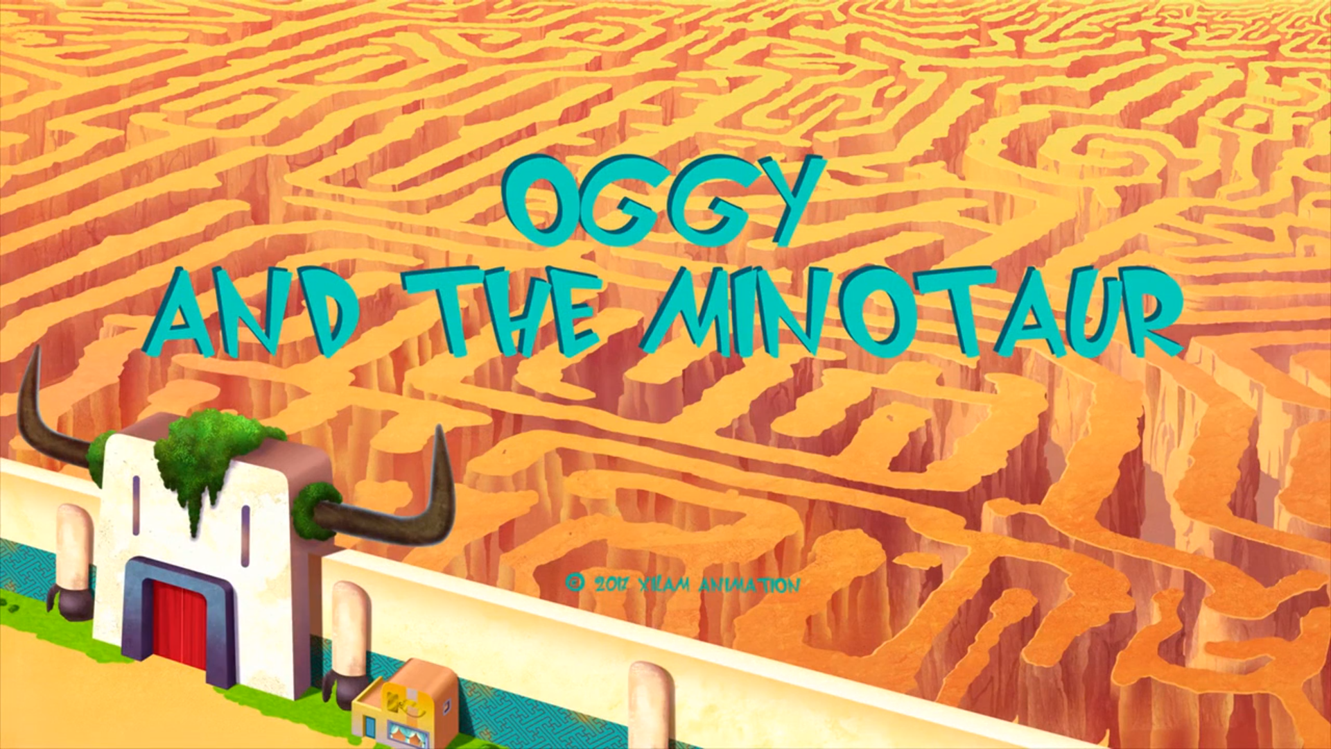 Oggy and the Minotaur