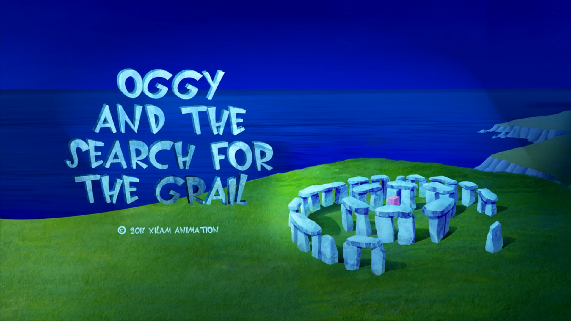 Oggy and the Search for the Grail
