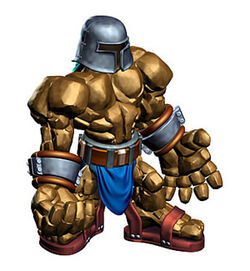 The Clay Golem's artwork in Ogre Battle 64: Person of Lordly Caliber