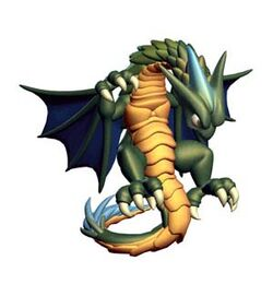 The Wyrm's artwork in Ogre Battle 64: Person of Lordly Caliber