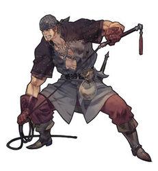The Beast Tamer's artwork in Tactics Ogre: Let Us Cling Together (PSP)