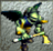 The Raven's sprite in Ogre Battle 64: Person of Lordly Caliber