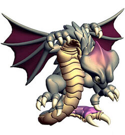 The Wyvern's artwork in Ogre Battle 64: Person of Lordly Caliber